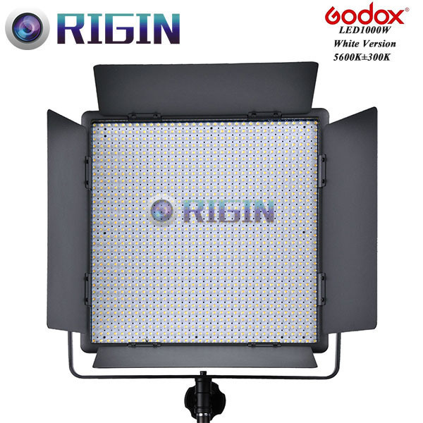 Godox Professional LED Video Light LED1000W White Version 5600K New arrival Free shipping godox professional led video light led500w white version 5600k new arrival free shipping