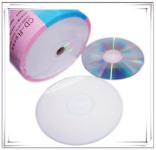 Оптом 10 дисков A + пустые печатные 52x Пустые 700 Мб CD-R диски