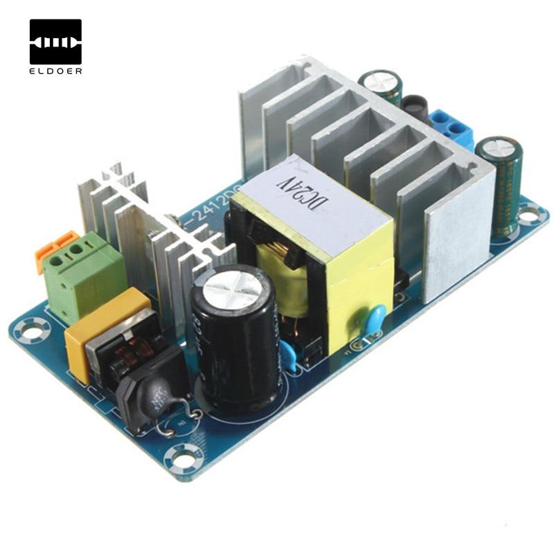 1 unid Venta caliente XK-2412-24 100 W 4A a 6A 24 V DC estable alta potencia Fuentes de alimentación conmutada AC DC módulo de alimentación transformador