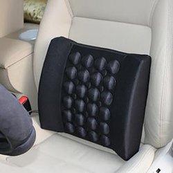 Электрический Вибрационный автомобильный массажер поясная подушка для спины поясничное поддерживающее сиденье необходимые аксессуары