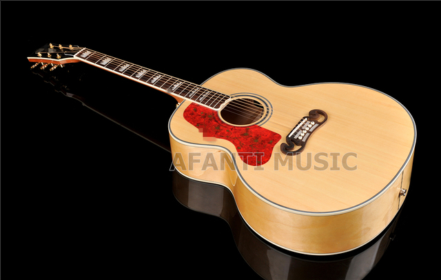 43 inch AFT-J200 Spruce top, Left-hand Acoustic guitar with EQ (AFT-J200) 1
