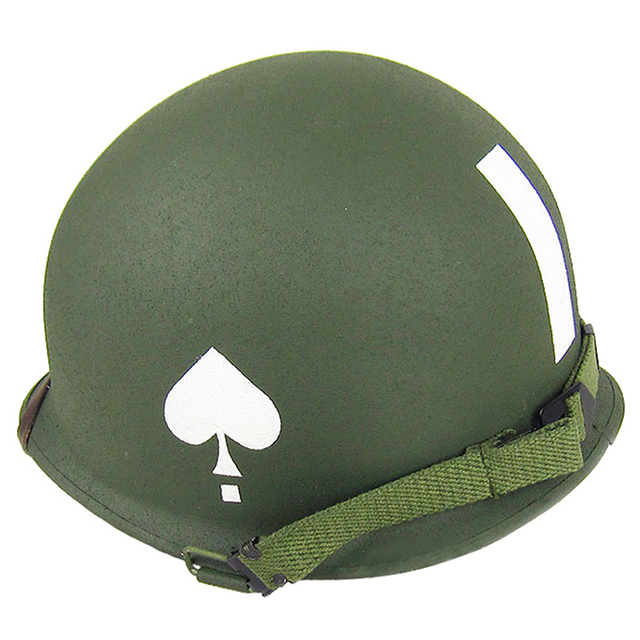 Hunting Tactical Military Gear Replica Ww2 M1 Metal Helmet 101st