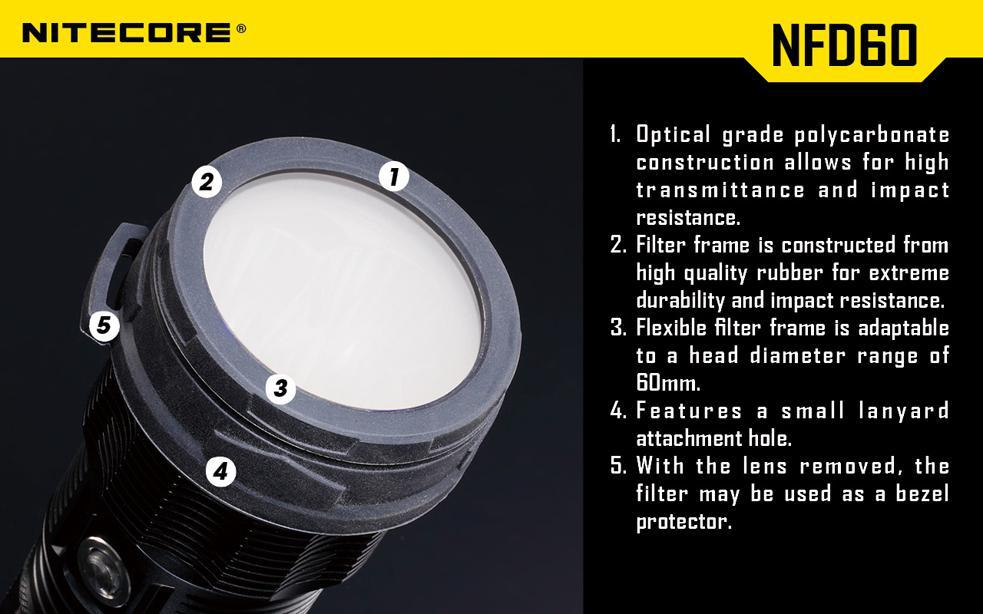 Nitecore 60 mm Colour Filter