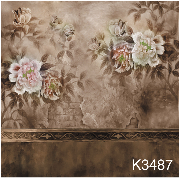 10ft x10ft/3*3m Hand Painted muslin backdrop K3487, flower photo backdrop,wedding background, photography scenic backdrops kate 10ft photo background naturism children photos flores wedding backdrops oil painting garden backdrop kids blue sea backdrop