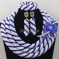 Gorgeous Native American Beads boda africanos Set indio joyería de fantasía nupcial conjunto joyería de la novia envío libre AIJ166