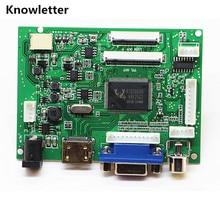 Kit de carte de contrôleur de pilote LCD HDMI + VGA + 2AV + Audio 40pin 50pin pour panneau AT065TN14/AT070TN90/AT070TN92/AT070TN94/AT090TN10
