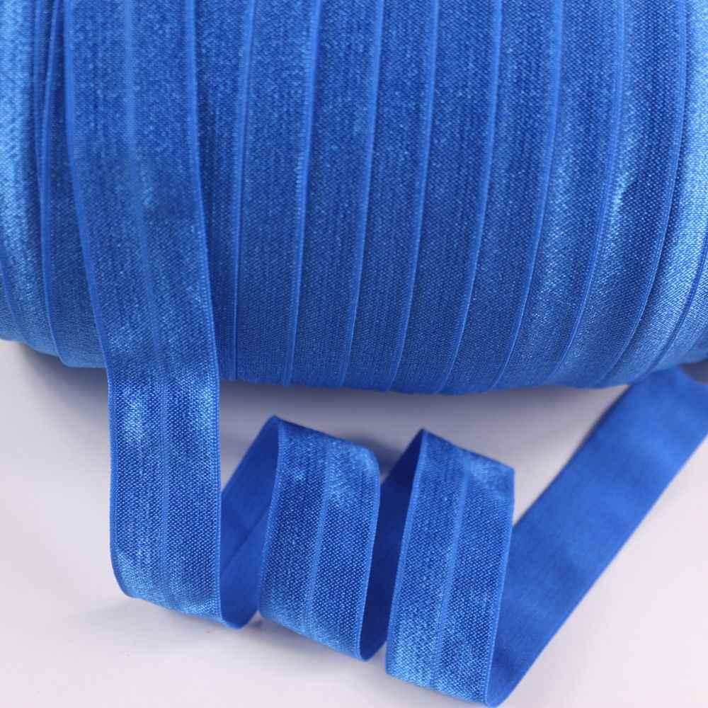 """25mm 1 """"stałe foe Fold Over elastyczna elastyczna dla opaski do włosów ubrania darmowa wysyłka 100 metrów 350 royal"""