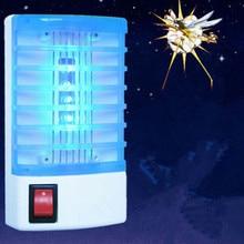 1PCS Mosquito Killer Lamp Anti Mosquito Repellent Electric Mosquito Fly Bug Insect Trap Killer Zapper US EU Plug Pest Control