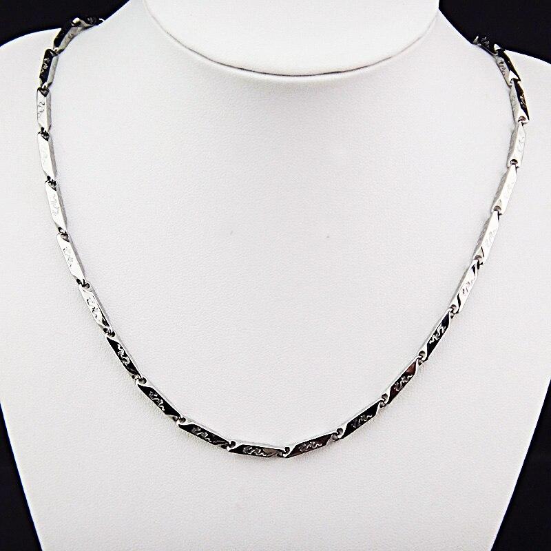 Горячая Распродажа шармы 316L нержавеющая сталь женское мужское ожерелье для костюма модные золотые серебряные ювелирные изделия A-816 - Окраска металла: G