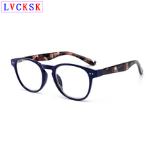 Women Presbyopia Glasses magnifier Men Reading Old Man farsighted Eyeglasses Spring Rice Rivets Design Printing Legs L3