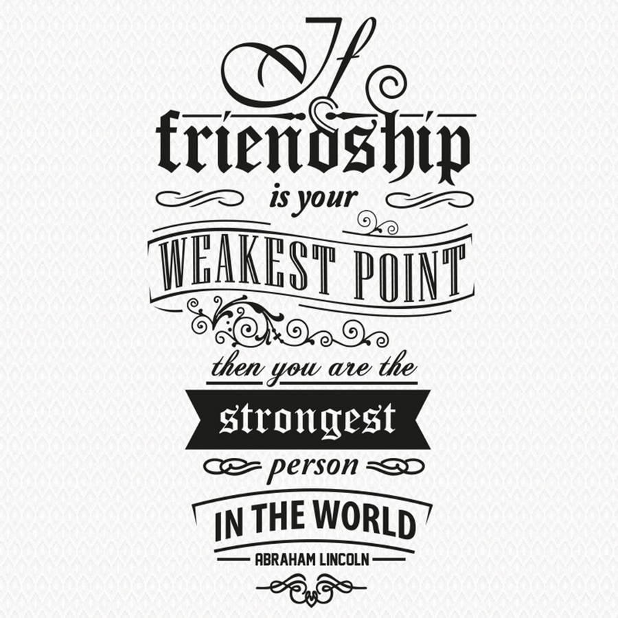 Motto Vinyl Wall Stickers Friendship Quotes Removable House Decoration Living Room Office Art Mural Creative diy Wallpaper ZA191 image