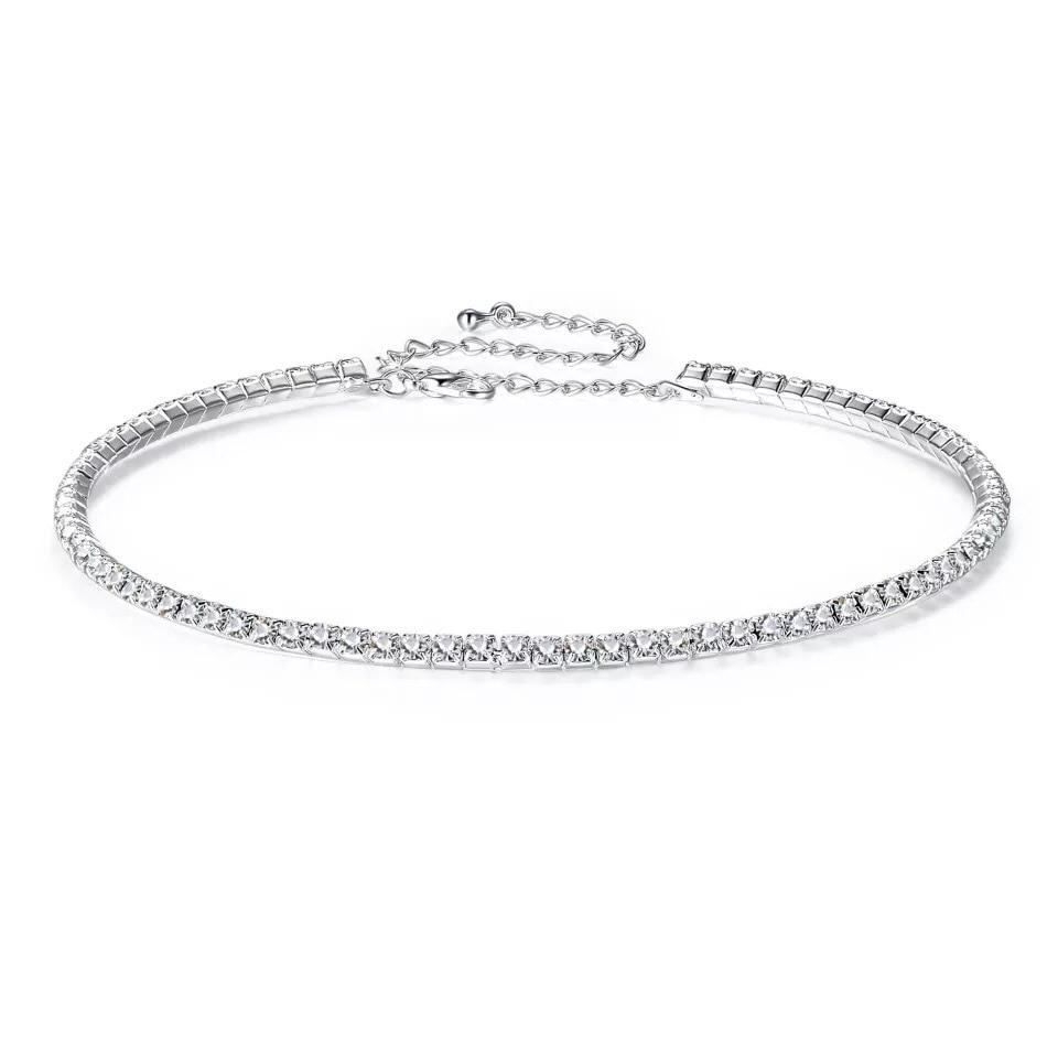 Women's Fashion Rhinestone Choker Necklace Jewelry Necklaces Women Jewelry
