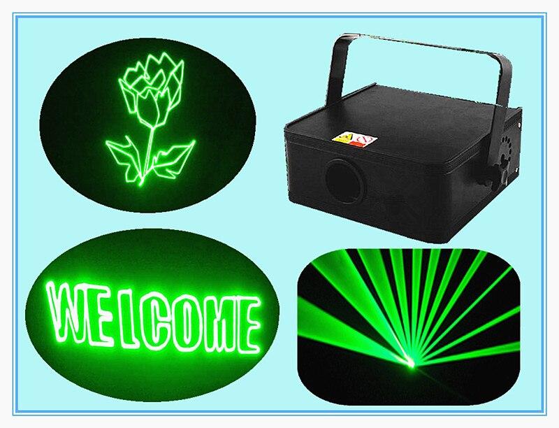 Rasha Hot Sale 532nm 100mW Green Laser Light Laser DJ Lighting Disco Laser Fat Beam Effects RGB Animation Laser Light For Xmas
