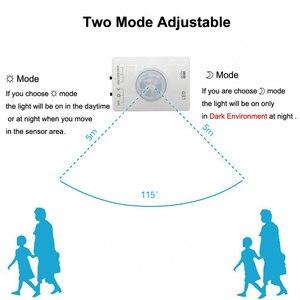 Image 4 - תנועה הופעל מיטת אור, USB נטענת גמיש רצועת חיישן לילה אור אוטומטית את טיימר led קבינט אור