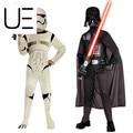 Darth vader star warsthe fuerza despierta storm troopers darth vader traje cabritos del juego de la película para halloween cosplay fiesta de disfraces