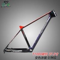 New style carbon fiber bicycle frame MTB mountain bike frame 27.5/29ER racing XC bicicletas bike parts