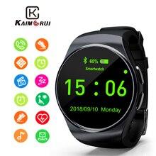 Купить с кэшбэком Kaimorui Smart Watch Support SIM TF Card Bluetooth Smartwatch Phone Pedometer Heart Rate for iPhone Xiaomi Android Phone