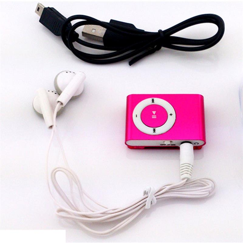 Protable Mini Mp3 Music Player Mp3 Player Micro TF Card Slot USB MP3 Sport Player USB Port With Earphone Headphone New Fashion bracelet
