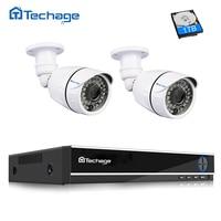 Techage 4ch 1080P Security CCTV System 5 In 1 Hybrid AHD DVR Recorder 1920 1080 2