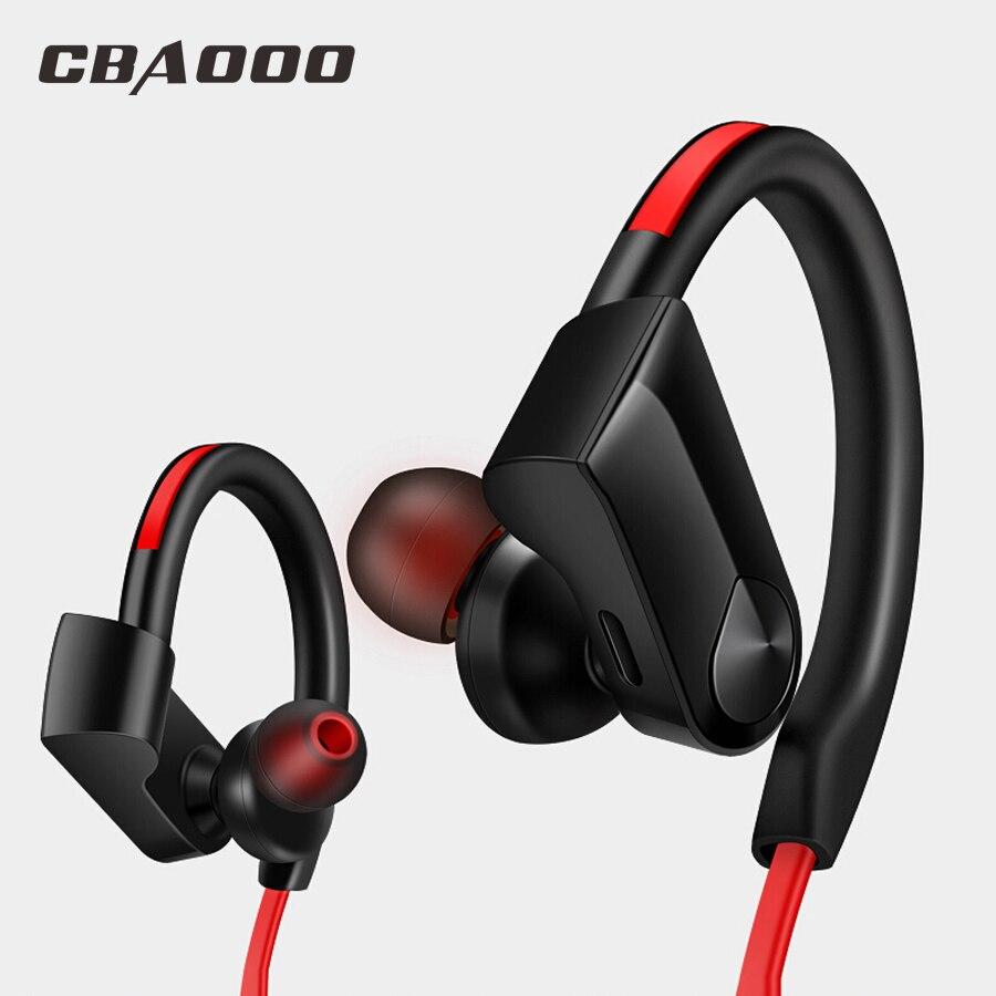 CBAOOO Auricolari Bluetooth Senza Fili Della Cuffia di Sport Auricolare Stereo Impermeabile blutooth auricolare con IL MIC per il iphone xiaomi