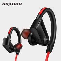 CBAOOO Bluetooth Earphones Wireless Sports Headphoen Stereo Headset Waterproof Aptx Bluetooth 4 1 With MIC For