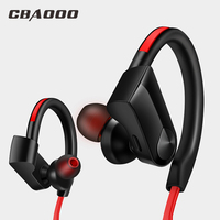 CBAOOO Bluetooth Earphones Waterproof Headset 4 1 Wireless Sports Aptx Stereo Headphones With MIC For Iphone