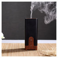 Portable Ultrasonic Aromatherapy Mini USB Humidifier Aroma Diffuser Electric Fragrance Oil Perfume Burner Wood Grain For
