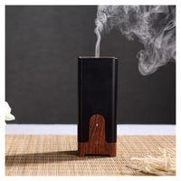 Portable Ultrasonic Aromatherapy Mini USB Humidifier Aroma Diffuser Electric Fragrance Oil Perfume Burner Wood Grain For