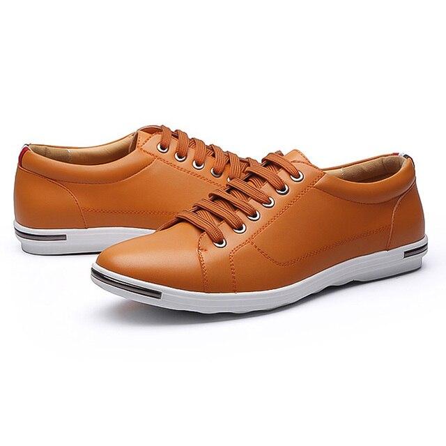 LAKESHI New 2018 Men Shoes Brand Flat Shoes Men Fashion Male Shoes Summer Footwear Comfortable Men Casual Shoes 5