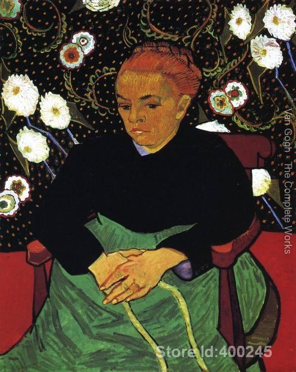 oil reproduction art by Vincent Van Gogh Madame Roulin Rocking The Cradle (La Berceuse) Home decor Hand painted High qualityoil reproduction art by Vincent Van Gogh Madame Roulin Rocking The Cradle (La Berceuse) Home decor Hand painted High quality