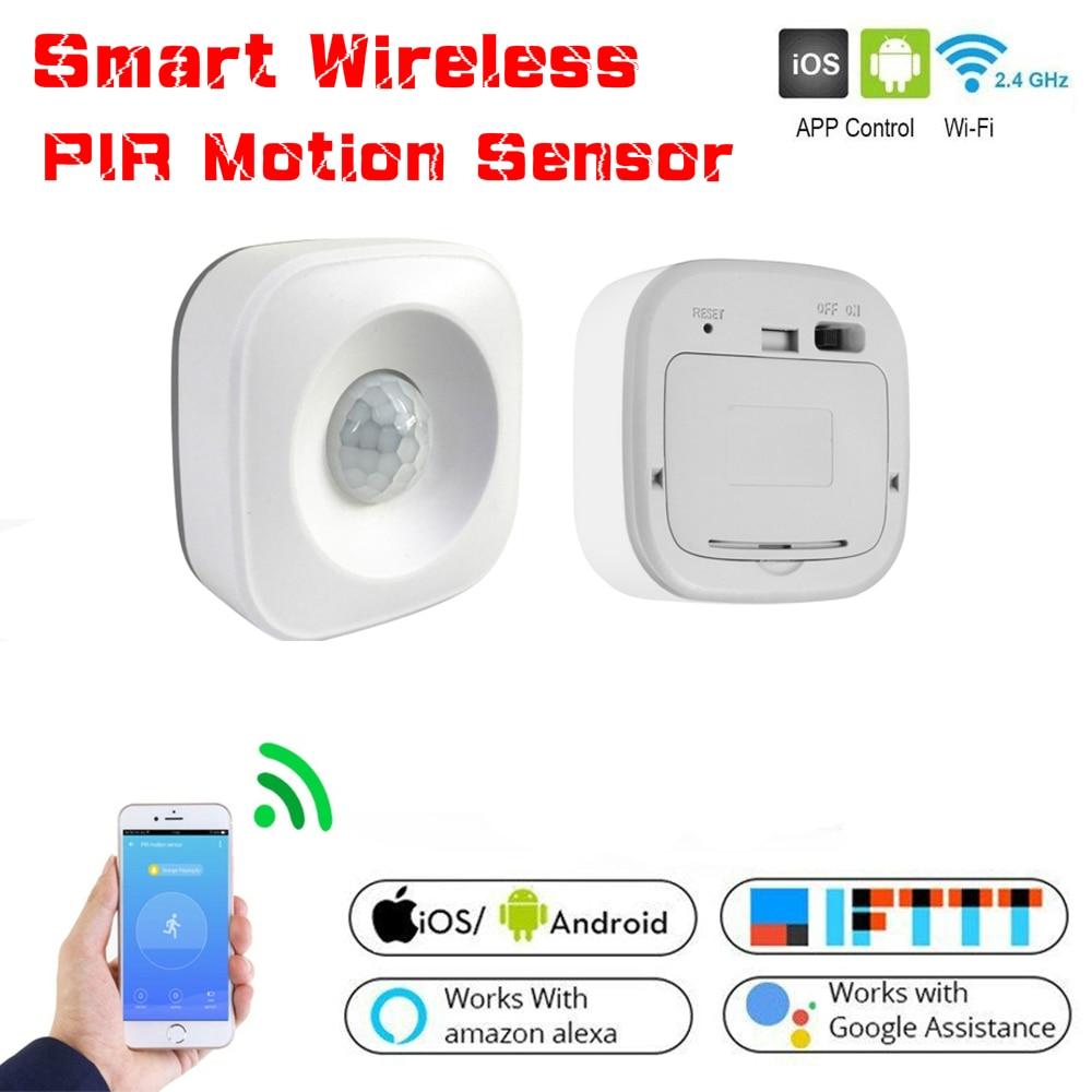 Google home assistant smart wireless PIR motion sensor detector for smart homeUS