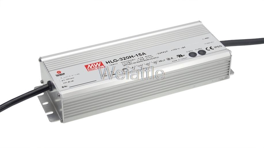 MEAN WELL original HLG-320H-12 12V 22A meanwell HLG-320H 12V 264W Single Output LED Driver Power Supply цена