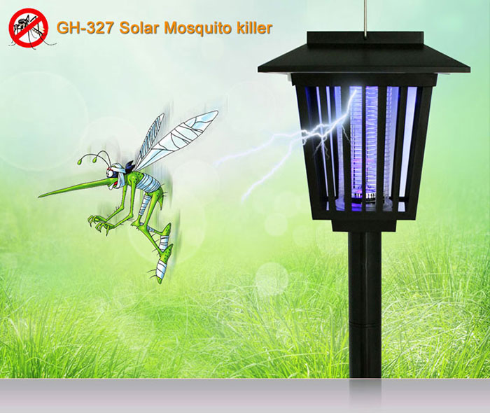 EMS Free Shipping Wholesale 40Pieces 3in1 Mosquito Insect Zapper Killer  Bugs Repeller Solar UV LED Garden. Online Get Cheap Repellent Lamp  Aliexpress com   Alibaba Group