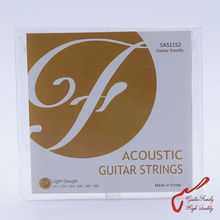 1 Set GuitarFamily SAS Folk Acoustic Guitar Strings  011-052 / 012-053 MADE IN KOREA