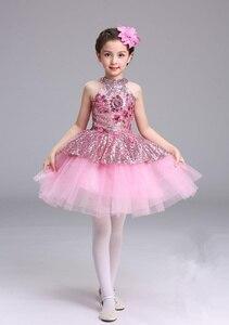 Image 4 - Ballet Tutu Dress Girls Gymnastics Leotard Dancewear Ballet Clothes Children Ballerina Costume Discount Ballet Tutus