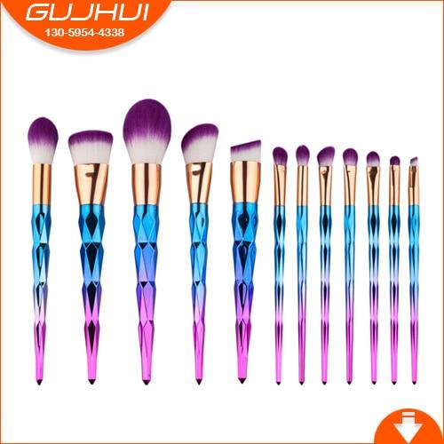 12 Diamonds, Make-up and Brush Suits, Beauty Make-up Tools, Brush and Brush Makeup GUJHUI тушь make up factory make up factory ma120lwhdr04