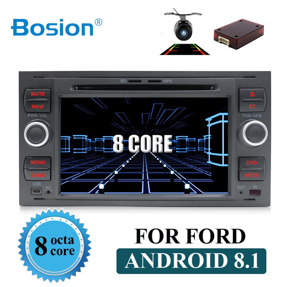 Pure Android 8 1 Car DVD GPS Navi Player Stereo Radio Audio 4G For Ford Focus