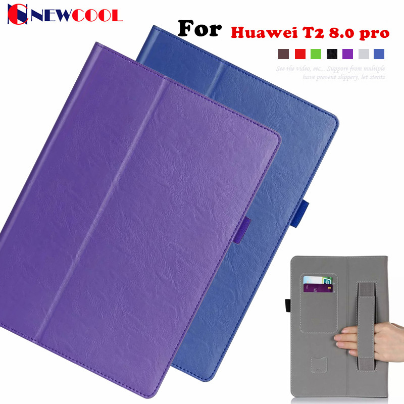 T2 8 Pro Magnetic Flip Cover For Huawei Honor tablet 2 JDN-W09 AL00 8.0 Tablet Case Smart Cover Protective shell