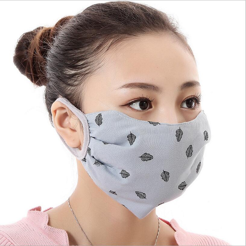 Mouth New Proof Anti-pollution Cycling Anti-dust Windproof Protect 100 Bacteria Wear Mask Eye Women Cotton Face Girl