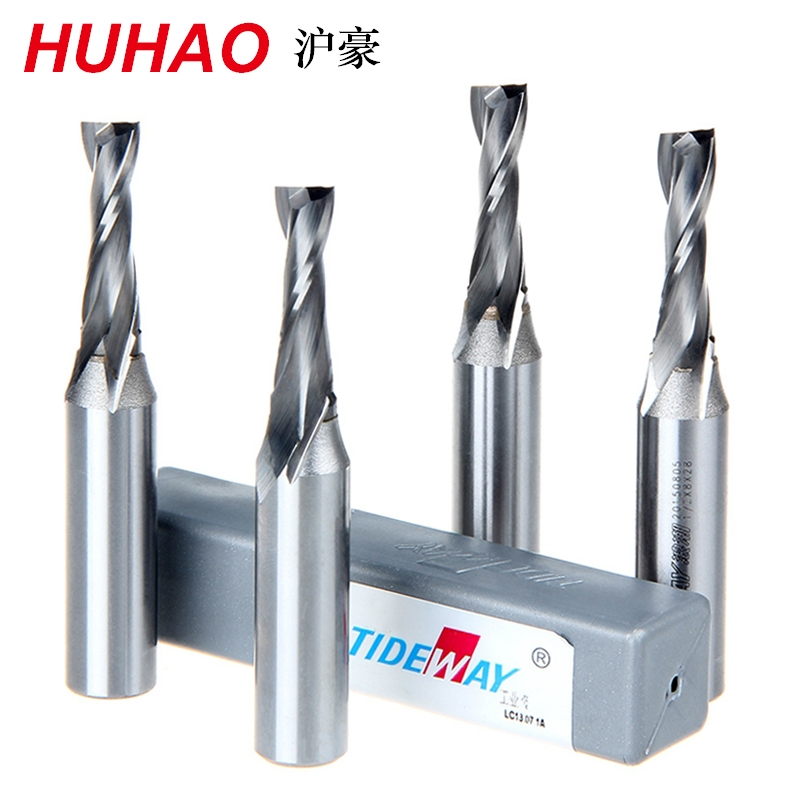 1/2*2*6 Carbide Woodworking Insert Router Bit Tungsten Steel 2 Flute End Milling Cutter TCT Wood Cutter Tideway 3170 2pcs cnc carbide end mill tool 3d woodworking insert router bit tungsten cleaning bottom end milling cutter mdf pvc acrylic wood