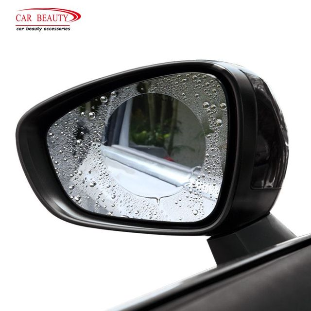 2018 New Car Rearview Mirror Waterproof Membrane Anti Fog Anti Glare