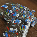 The new film transfer film nail glue sticker cartoon cute blue elf YC409