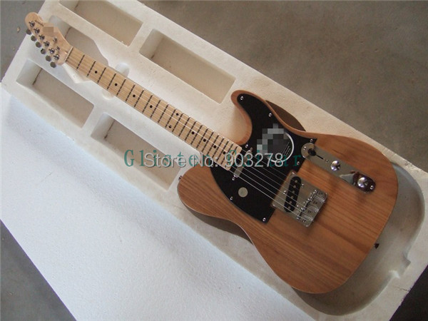 New Arrival  Nature TELE Electric Guitar 23  Basswood