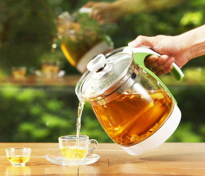 Free shipping Multifunctional health pot decocting tea glass thickened electric kettle Safety Auto-Off Function free shipping multifunctional health pot kettle with thick glass automatic tea insulation safety auto off function