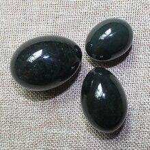 3 Size Undrilled Natural Nephrite Jade Yoni Egg Pelvic Kegel Exercise Jade Egg Tightening Vaginal Muscle Massage недорого