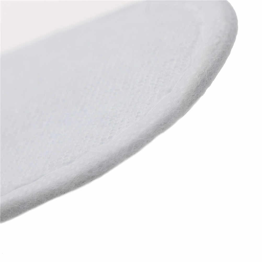 1 Pair Usa E Getta Bianco Spugna Punta Chiusa Da Viaggio Pantofole Hotel Spa Scarpe Da Bagno Set Bagno Doccia Accessori Da Bagno