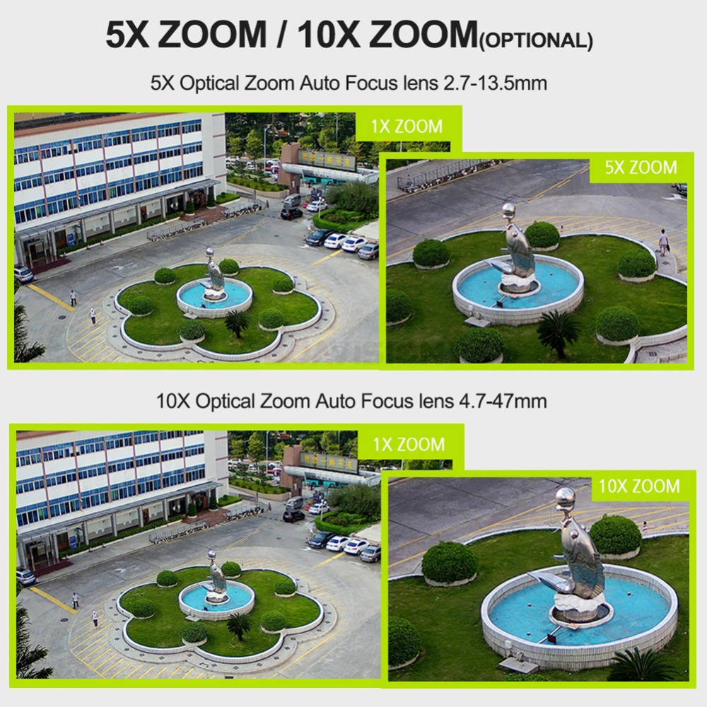 1080 P 3G 4G PTZ caméra IP extérieure Wifi carte SIM caméra P2P Support Micro SD carte stockage Wi-Fi Cam 5X 10X Zoom objectif caméras de vidéosurveillance - 2