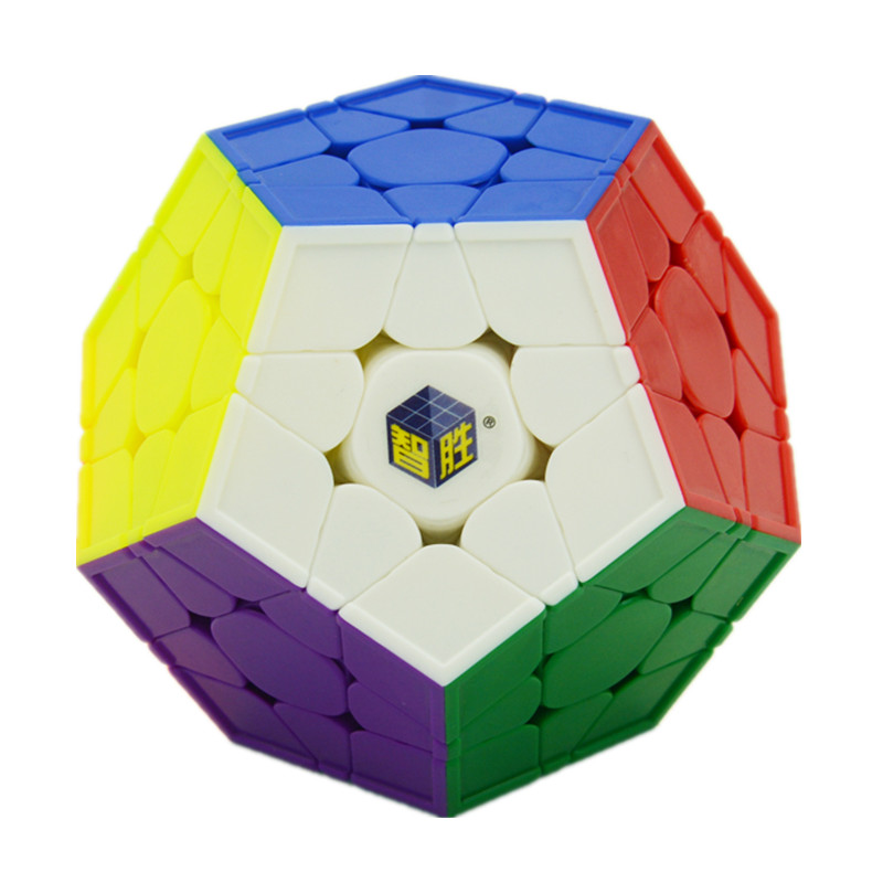 Zhisheng Little Magic 12-side Megaminx Magic Cube Speed Puzzle Cubes Learning & Educational Toys for Children Adult Gifts