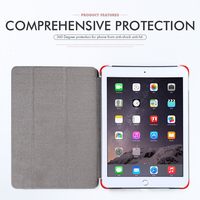 protective pu leather Tablet Case For iPad Air 2 Cases Flip Auto Sleep Bumper For Apple iPad 6 iPad Air 2 Air2 iPad6 Cover Protective PU Leather Bags (5)