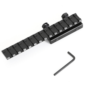 Image 5 - Tactical 20mm Weaver Picatinny Rail Scope Mount Extender Riser Hunting Accessories Flat Top Base Adapter Converter For Airsoft